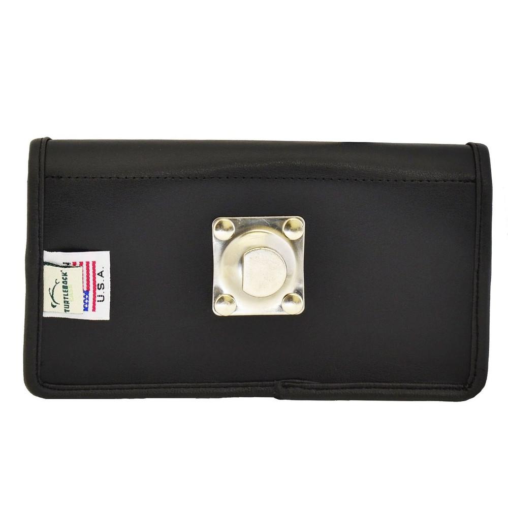 HTC Desire 826 Horizontal Leather Holster, Metal Belt Clip