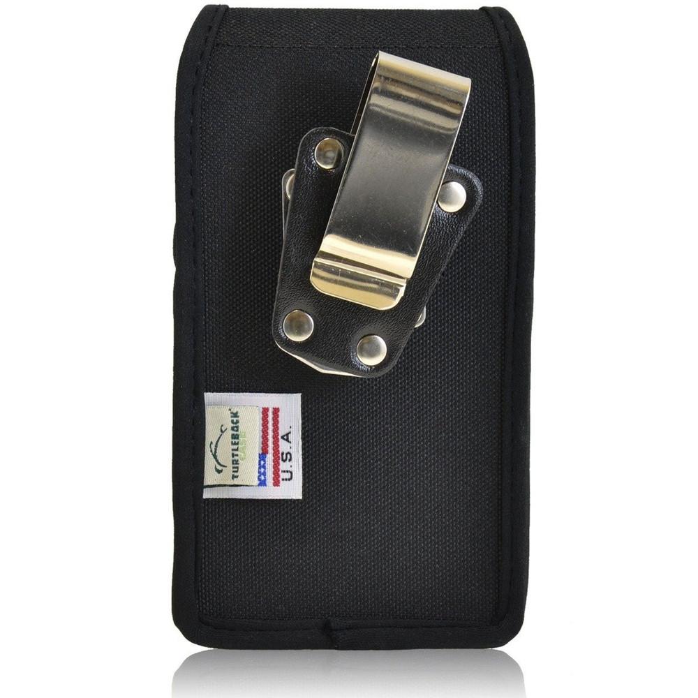 Kyocera Brigadier E6782 Vertical Nylon Holster, Metal Belt Clip