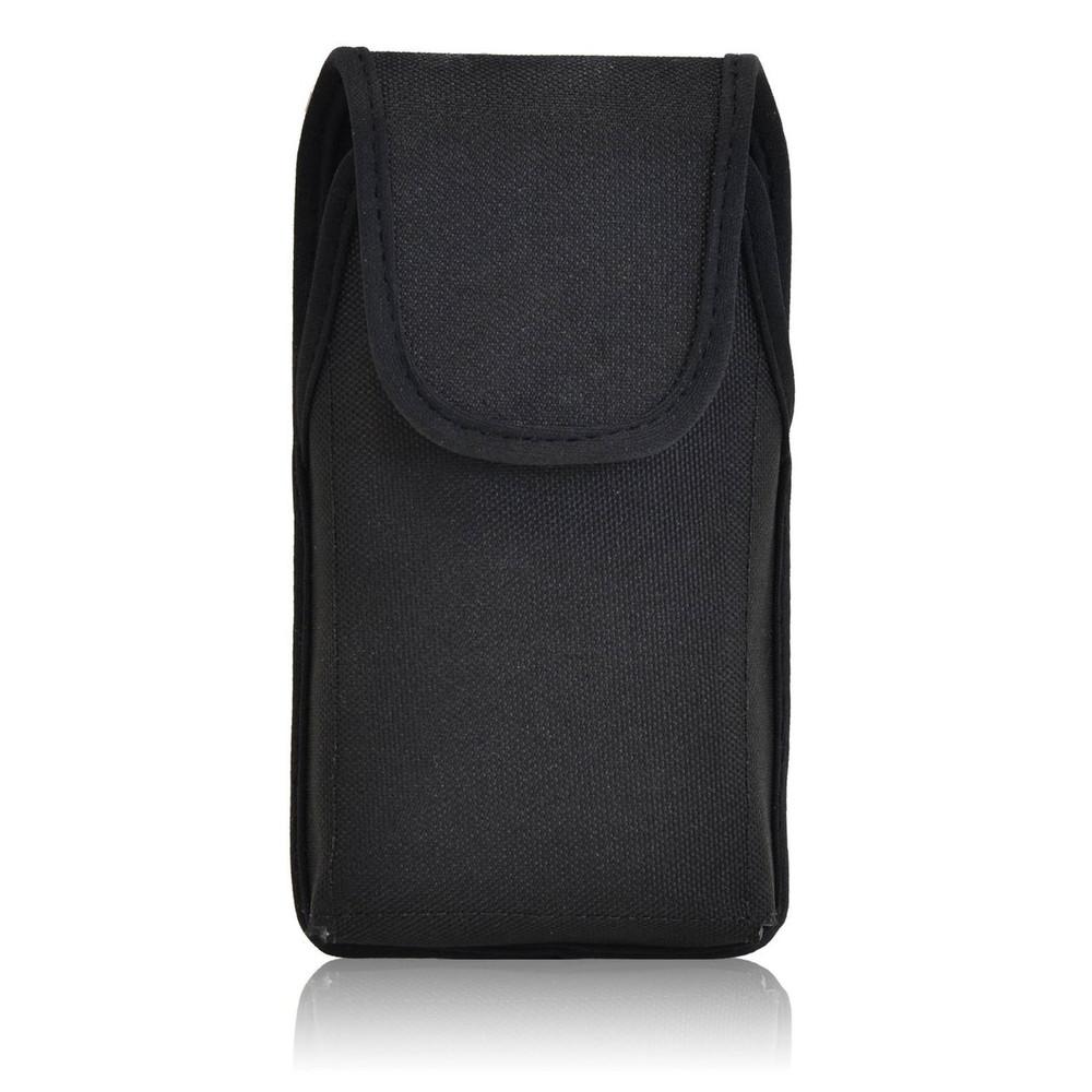 Nokia Lumia 635 Vertical Nylon Holster, Metal Belt Clip