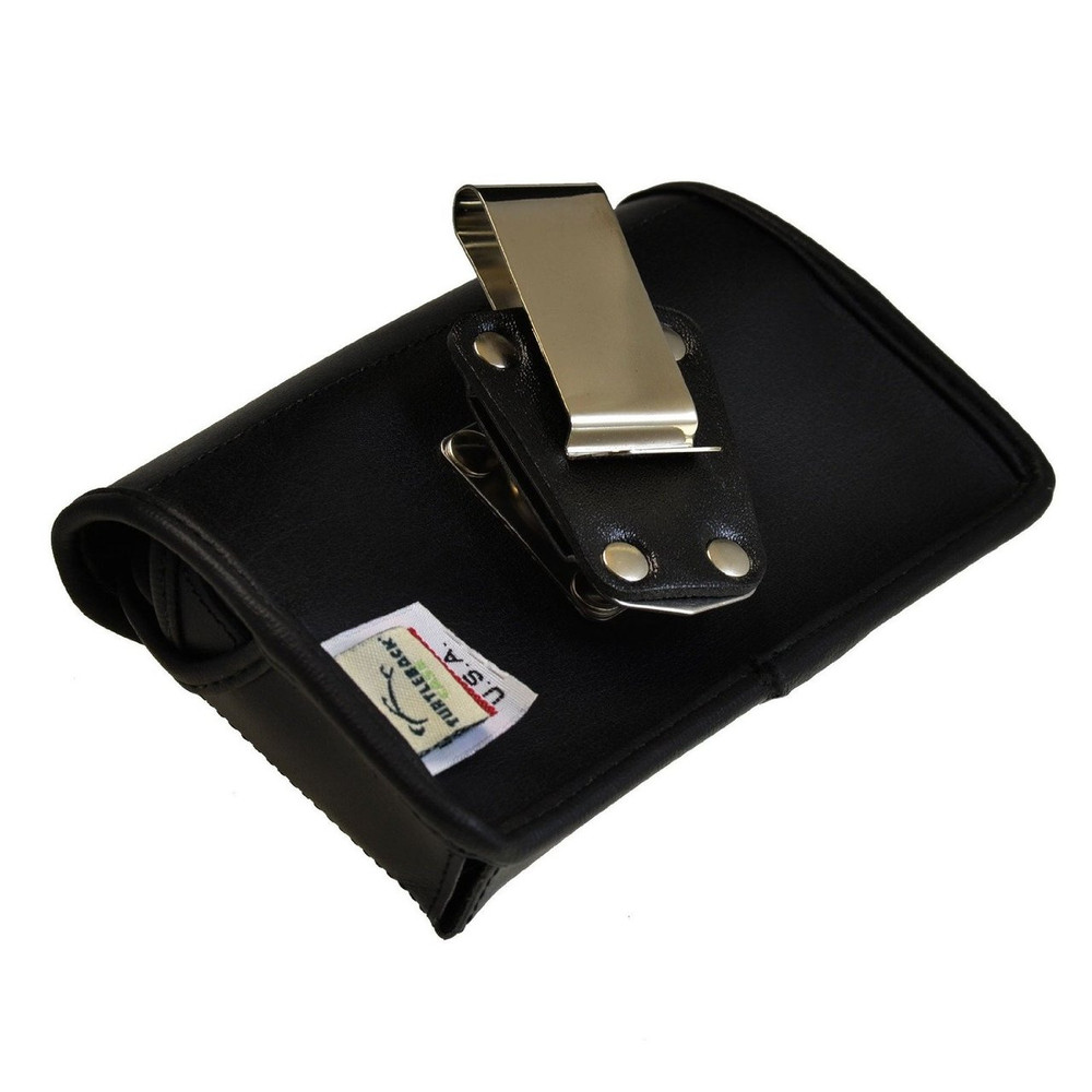 Samsung Galaxy Note 2 II Horizontal Leather Holster, Metal Belt Clip, Snap Closure