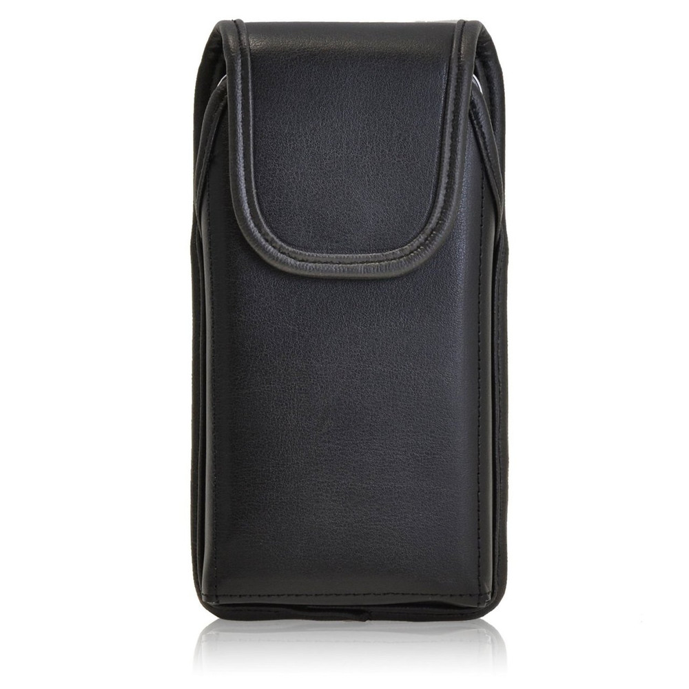 new arrival 9c832 ee268 Samsung Galaxy S5 Active Vertical Leather Holster, Black Belt Clip