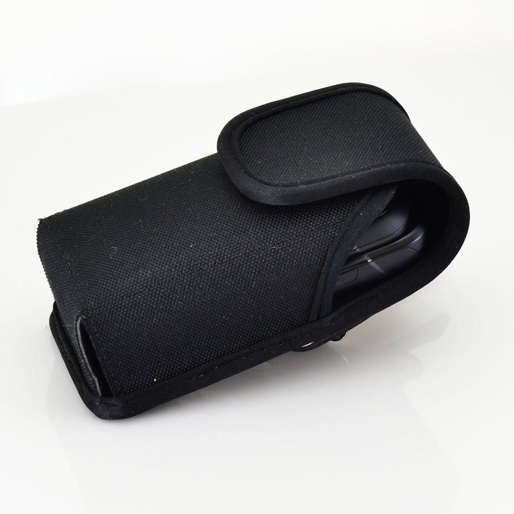Samsung Rugby 4 Vertical Nylon Holster, Metal Belt Clip