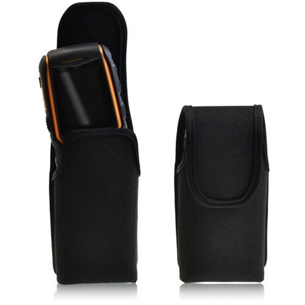 Sonim XP5560 XP1520 Bolt IS SL Vertical Nylon Holster Pouch, Metal Belt Clip by Turtleback