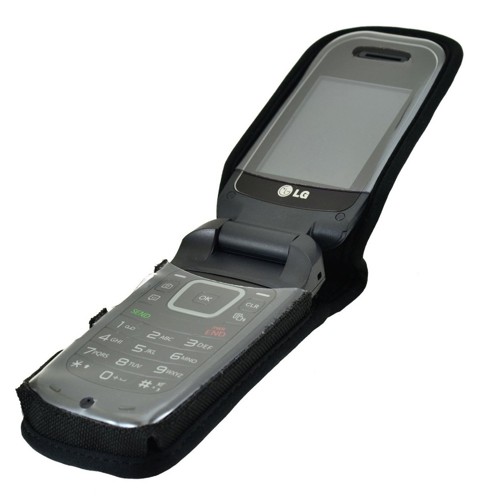 LG 450 Heavy Duty Nylon Phone Case with Rotating Metal Belt Clip