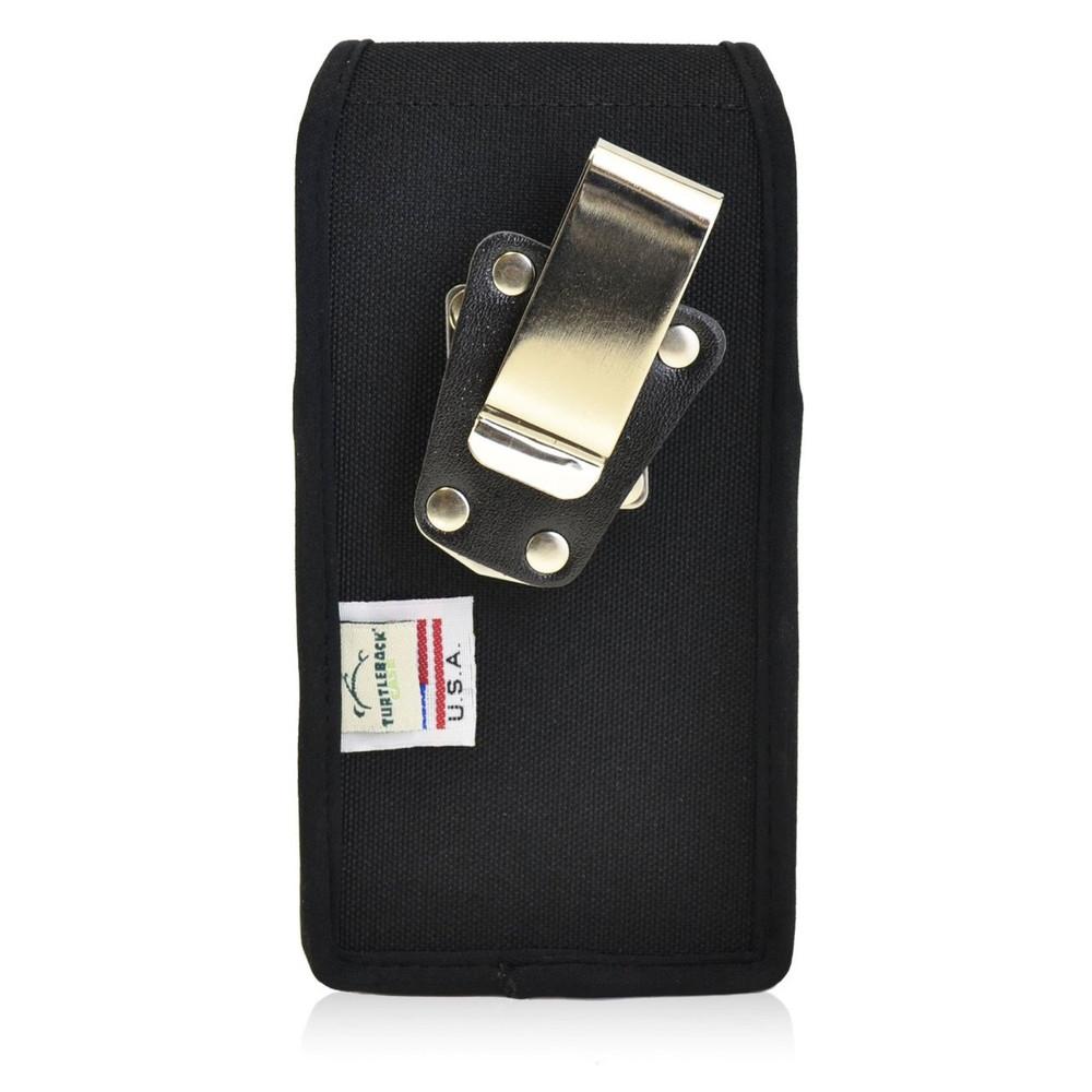 HTC One M9 Vertical Nylon Holster, Metal Belt Clip