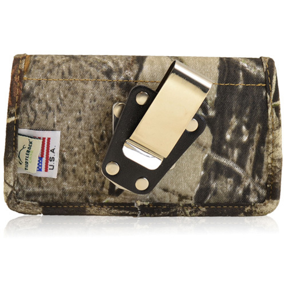 5.87 X 3.25 X 0.75in - Camouflage XL Nylon Horizontal Holster, Metal Belt Clip