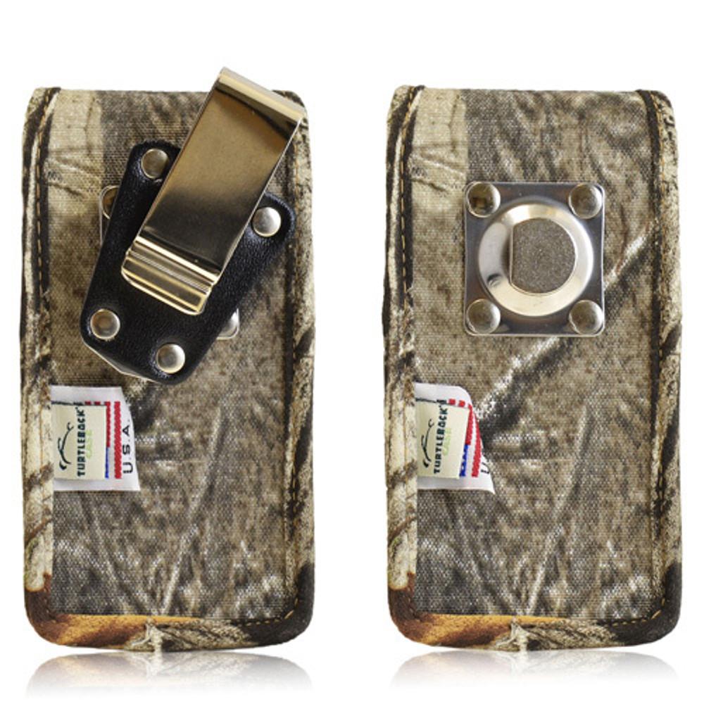 Vertical Camouflage XL Nylon Holster, Metal Belt Clip