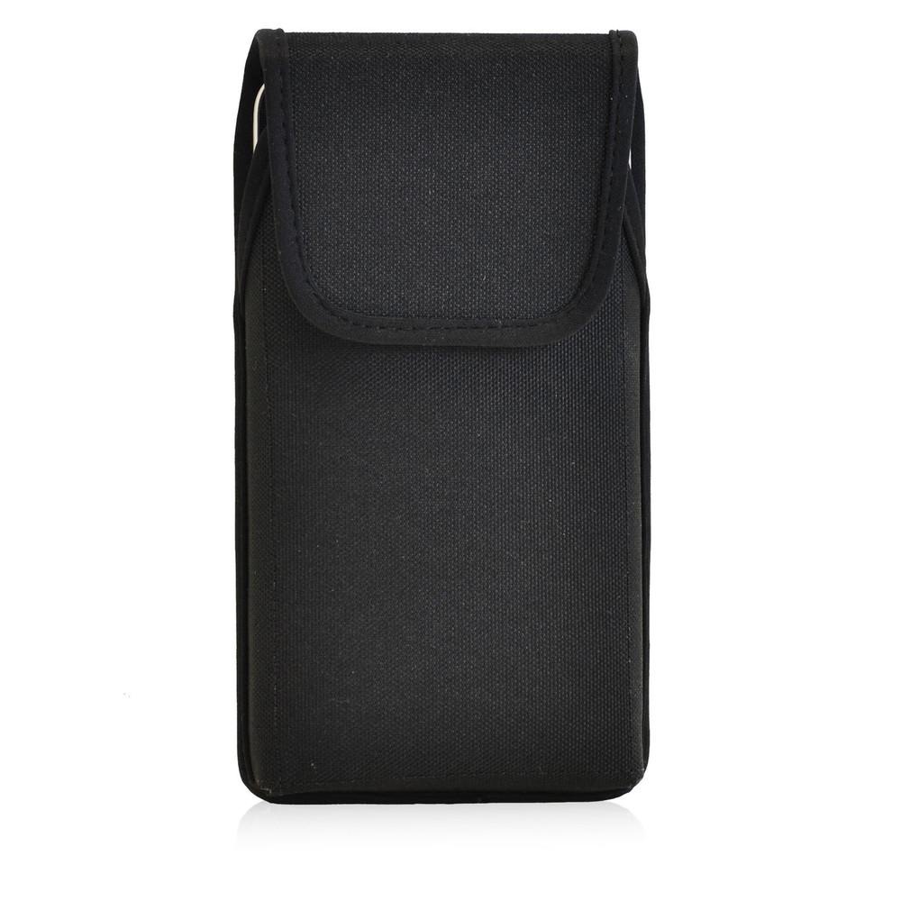 LG G4 Vertical Nylon Holster, Metal Belt Clip