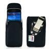 Blackberry 9000 8350i 8330 Nylon Holster, Metal Belt Clip