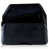 BLU Studio 5.0 II Leather Holster Case Black Belt Clip
