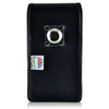 BLU Studio 6.0 HD Vertical Leather Holster Case Metal Clip