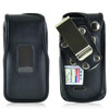 LG Exalt 2 IIVN370 Leather Fitted Phone Case, Metal Belt Clip