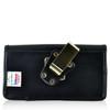 Blu Pure XL Leather Holster Case Metal Belt Clip