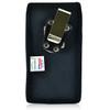 Blu Pure XL Vertical Nylon Holster Case Metal Belt Clip