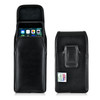 iPhone 8 Plus and iPhone 7 Plus Holster Vertical Black Belt Clip Fits Otterbox Commuter