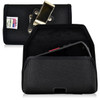 Kyocera DuraForce E6560 Holster Metal Belt Clip Case Pouch Nylon Horizontal