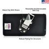 Galaxy S9 & S8 Nylon Holster Case Metal Belt Clip
