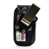 ZTE Z222 Nylon Flip Phone Fitted Case Metal Clip