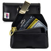 5.30 x 2.62 x 0.60 in  - Smartphone Credit Card Pocket Case Holster Metal Clip (iPh 8, 7, 6, 5, SE)
