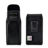 Galaxy S8 Leather Vertical Holster Black Belt Clip Otterbox Commuter