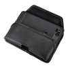 Google Pixel 2 Belt Case Fits Slim Case Black Leather Executive Belt Clip