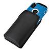 iPhone X Belt Clip Case fits OTTERBOX DEFENDER Case Black Nylon Holster Rotating Belt Clip, Vertical