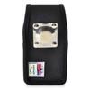 DuraXV LTE E4610 Verizon Black Nylon Pouch Case Rotating Belt Clip Magnet