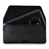 Galaxy S9 Plus Belt Clip Case for Otterbox PURSUIT Case Rotating Belt Clip Black Nylon Pouch