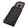 Galaxy S9 Plus Vertical Belt Case for Otterbox DEFENDER Case Rotating Belt Clip Black Leather Pouch