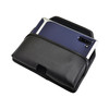 Samsung Galaxy Note 10 (2019) Belt Holster Case Black Leather Pouch with Executive Belt Clip, Horizontal