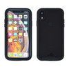 Tough Defense Drop Tested Case for Apple iPhone XR 6.1 Inch, Military Grade, Anti-Scratch Ultra Clear Back & Black Sides