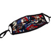 Face Mask in Floral Quilt Print Washable Reusable, Cotton Pocket, 2 Ply, Nose Seal, Adjustable Ear Loops (set of 2)
