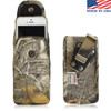 6.00 X 2.87 X 0.50in - Vertical Camouflage XL Nylon Holster, Metal Belt Clip