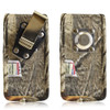 Vertical Camouflage XL Nylon Holster, Metal Belt Clip