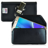 Samsung Galaxy Note 5 Leather Holster, Metal Belt Clip
