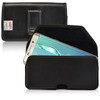 Galaxy S6 Edge Plus Leather Holster Black Clip