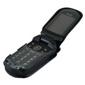 Kyocera DuraXTP Leather Fitted Case Black Belt Clip