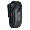 Kyocera DuraXV+ Plus Leather Fitted Case Black Belt Clip