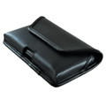 Galaxy S7 Edge Horizontal Leather Fixed Clip Holster