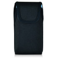 Galaxy S7 Edge Extended Vertical Nylon Rotating Clip Holster Fits Otterbox Commuter