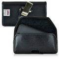 Mophie Juice Pack iPhone SE Belt Clip Case Mophie Air, Plus, Helium iPhone 5s Holster, Black Leather Pouch with Heavy Duty Rotating Belt Clip, Horizontal - Magnetic Flap Closure