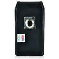 Google Pixel Belt Case, Vertical Google Pixel Holster, Rotating Belt Clip, Black Leather Pouch, Heavy Duty