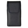 Google Pixel Belt Clip Case, Vertical Google Pixel Holster, Rotating Belt Clip, Black Nylon Pouch, Heavy Duty