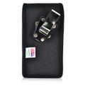 Google Pixel XL Belt Clip Case, Vertical Google Pixel XL Holster, Rotating Belt Clip, Black Nylon Pouch, Heavy Duty