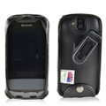 Kyocera DuraForce PRO Phone Fitted Case Black Leather Plastic Clip