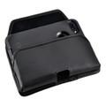 iPhone SE 2020 (2nd Gen), iPhone 7 / 8 Holster Horizontal Black Belt Clip Fits Otterbox Defender