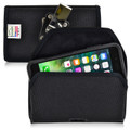 iPhone 8 Plus and iPhone 7 Plus Nylon Holster Metal Belt Clip Fits Otterbox Commuter