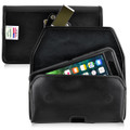 iPhone 8 Plus and iPhone 7 Plus Holster Horizontal Black Clip Fits Otterbox Defender