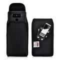 LG G6 Nylon Vertical Holster Case Metal Belt Clip