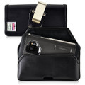 Galaxy S9 & S8 Leather Holster Case Metal Belt Clip